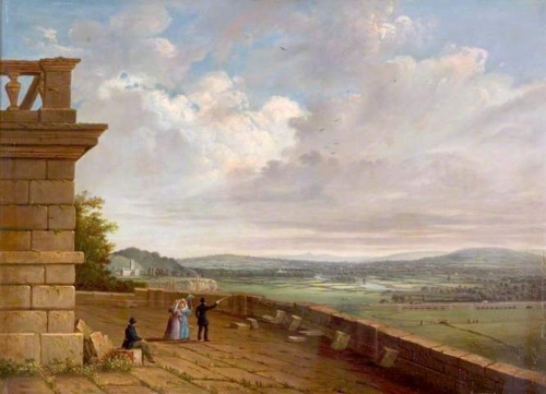 View from the Nottingham Castle Terrace Looking East.jpg