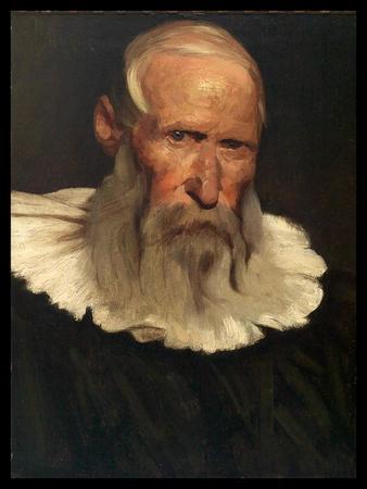 Elderly Man Wearing Large White Collar.jpg