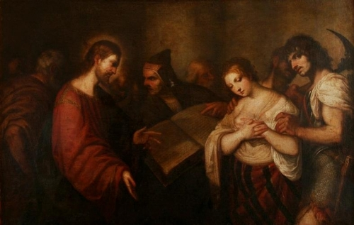 Christ and the Woman Taken in Adultery.jpg