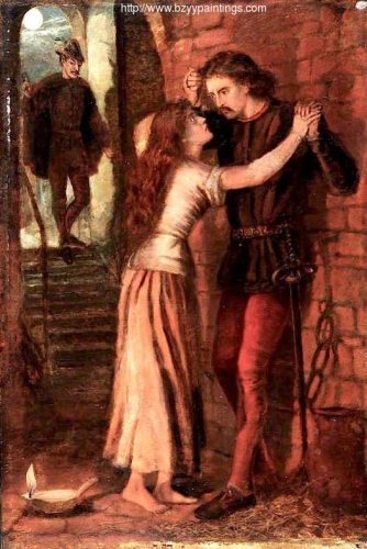 The Theodore Watts-Dunton Cabinet: Faust and Margaret in Prison after Dante Gabriel Rossetti).jpg