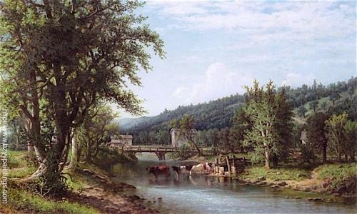 Arnott Mill on Newtown Creek Elmira New York.jpg