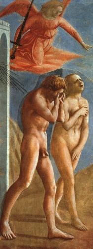 Expulsion from the Garden of Eden Brancacci Chapel).jpg