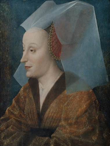 Portrait of a Noble Woman probably Isabella of Portugal 1397-1472).jpg