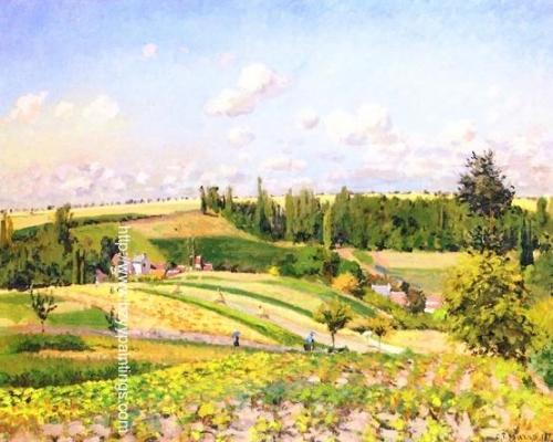Landscape at Les Patis Pontoise also known as The Harvest Pontoise).jpg