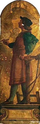 Raphael design for a mosaic in the Victoria and Albert Museum not executed).jpg