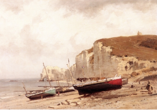 Fishing Boats on the Beach Normandy.jpg