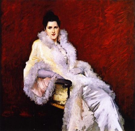 Portrait of Miss C also known as Lady in Opera Cloak; Portrait of Mrs Clark).jpg