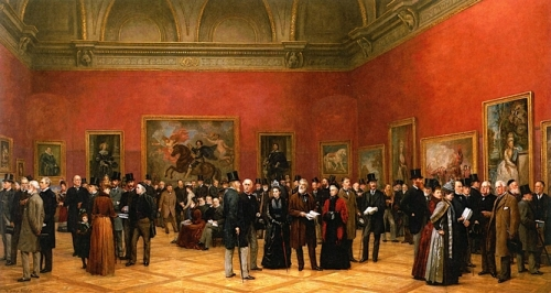 Private View of the Old Masters Exhibition Royal Academy 1888.jpg
