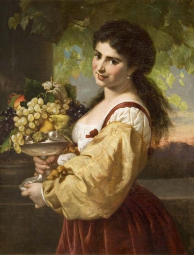 Young Italian Woman with Fruit Bowl.jpg