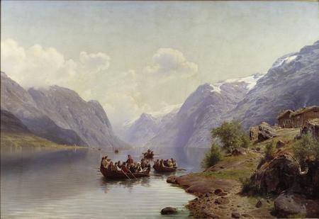 Bridal Escort on the Hardanger Fiord.jpg