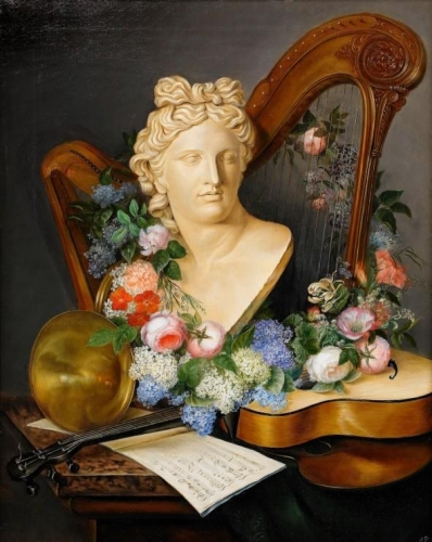 Still life with musical instruments and flowers.jpg