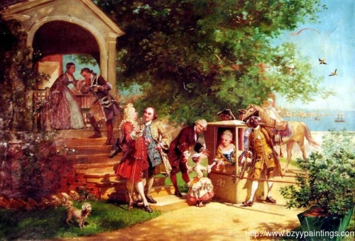 Annapolis in 1750also known as My Ladys Visit).jpg