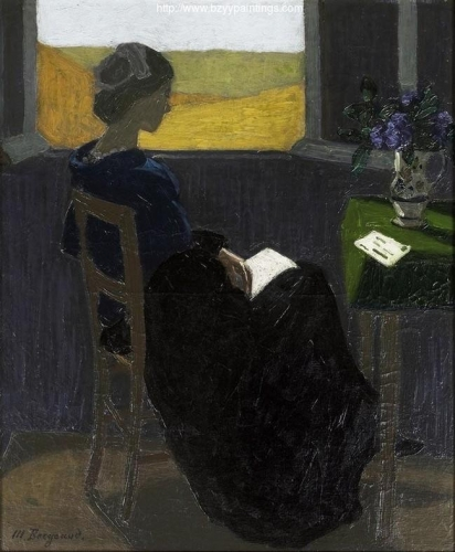 Young Woman Reading at the Window.jpg