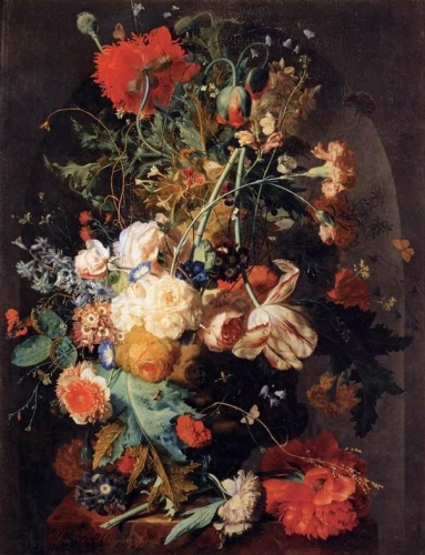 Vase of Flowers in a Niche.jpg
