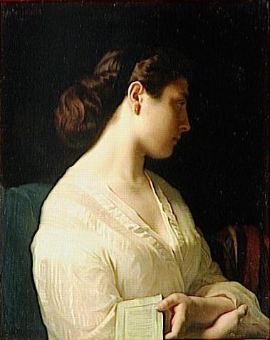 Portrait of a Young Girl Portrait de jeune fille)also known as The Young Greek La jeune grecque)).jpg