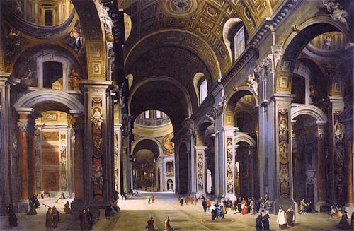 Interior of St Peters Rome.jpg