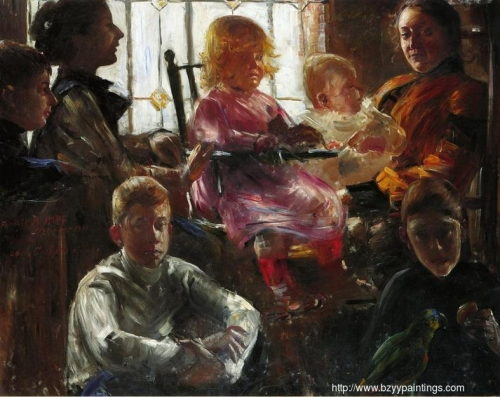 The Family of the Painter Fritz Rumpf.jpg