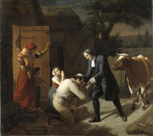 Fénélon returns a Stolen Cow to a Peasant.jpg