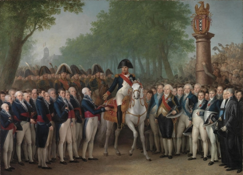 Napoleons Entry in Amsterdam October 9 1811.jpg