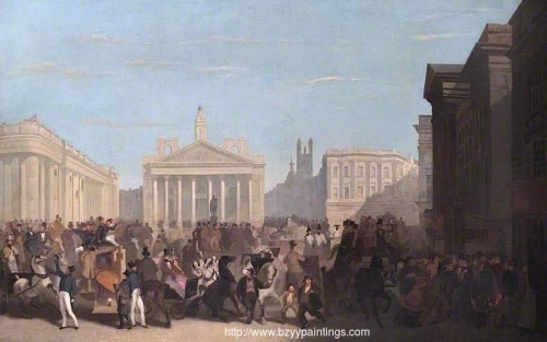 The Bank of England Royal Exchange and Mansion House.jpg