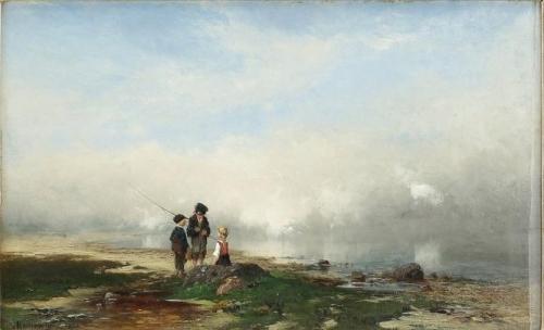 Beach scene with children.jpg