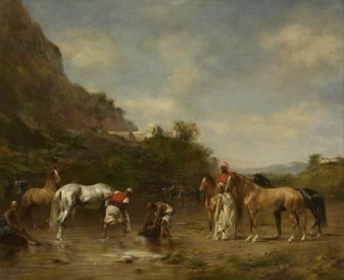Arabs Watering Their Horses.jpg