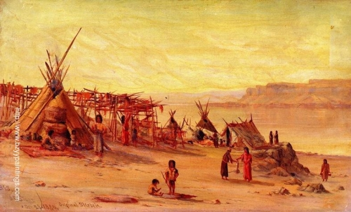 Indian Camp near Celilo.jpg