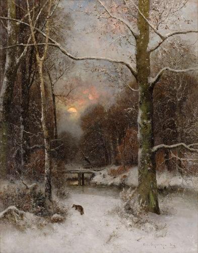 Winter Landscape with Fox.jpg