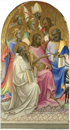 Adoring Saints From San Benedetto Altarpiece).jpg