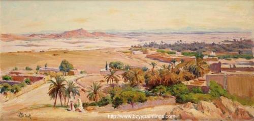 View of Bou-Saâda Vue de Bou-Saâda).jpg