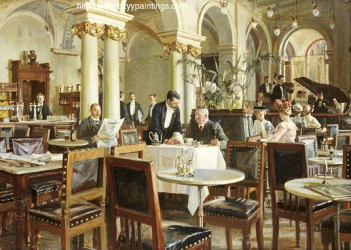 A Café in Copenhagenalso known as The Coffeehouse or The Restaurant).jpg