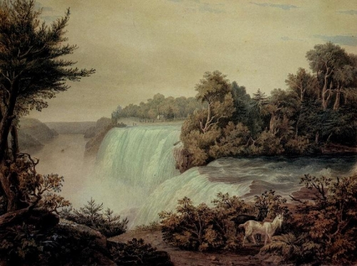 Niagara Falls: View of the American Fall Taken from Goat Island.jpg