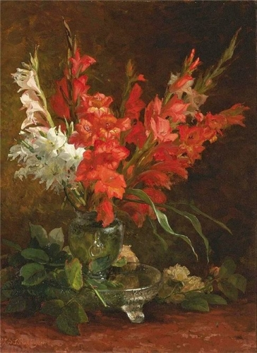 A Still Life with gladioli and roses.jpg