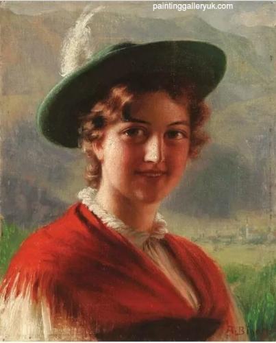 Portrait of a Bavarian Beauty.jpg