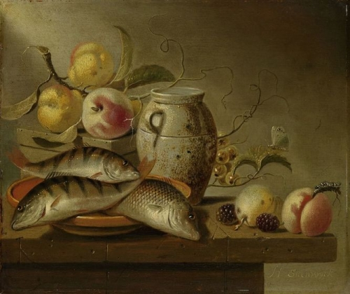 Still Life with Earthenware Jar Fish and Fruit.jpg