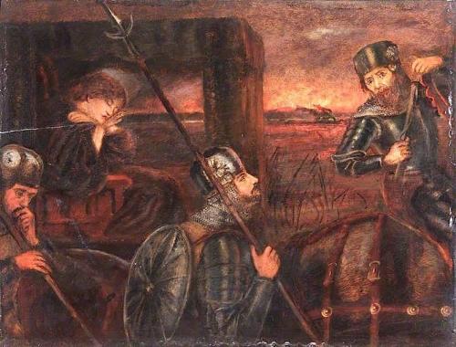 The Theodore Watts-Dunton Cabinet: The Princess Sabra Taken to the Dragon.jpg
