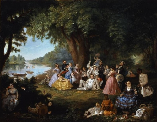 The Artist and Her Family at a Fourth of July Picnic.jpg