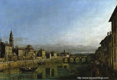 The Arno in Florence with the Ponte alla Carraia.jpg