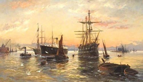 Shipping in the Thames Estuary.jpg