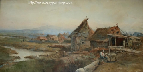 Peasant Boy with a Sheep on the Roman Campagna.jpg
