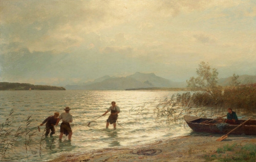 Fishing by the shore.jpg