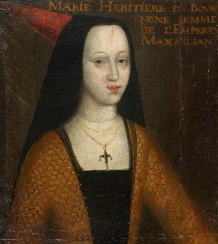 Mary1457-1482) Duchess of Burgundy and Archduchess of Austria.jpg