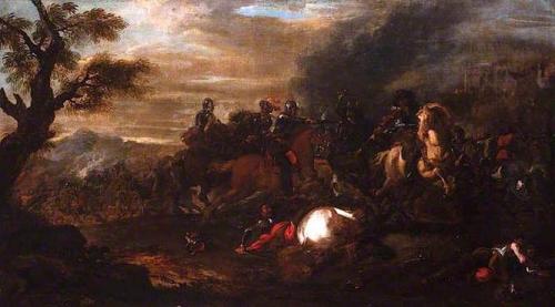 A Cavalry Skirmish.jpg