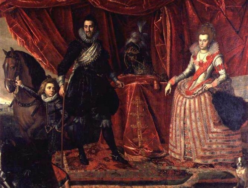 Christian IV of Denmark and his first wife Anne Catherine of Brandenburg.jpg