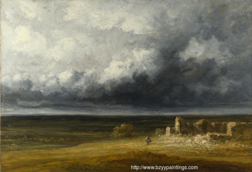 Stormy Landscape with Ruins on a Plain.jpg