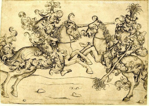 Combat of two wild men on horseback.jpg