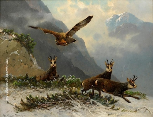 Eagles and wild goats in the mountains.jpg