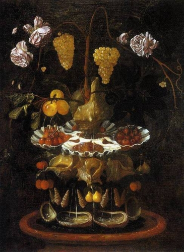 Still-Life with a Shell Fountain Fruit and Flowers.jpg