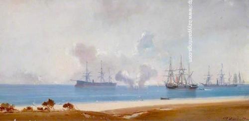 Ships Standing off a Beach.jpg