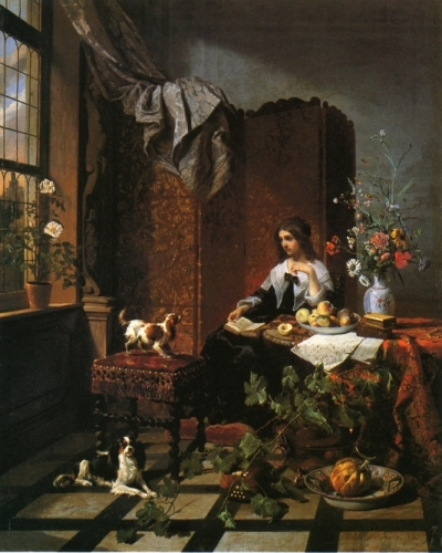 Lady in an Elegant Interior.jpg